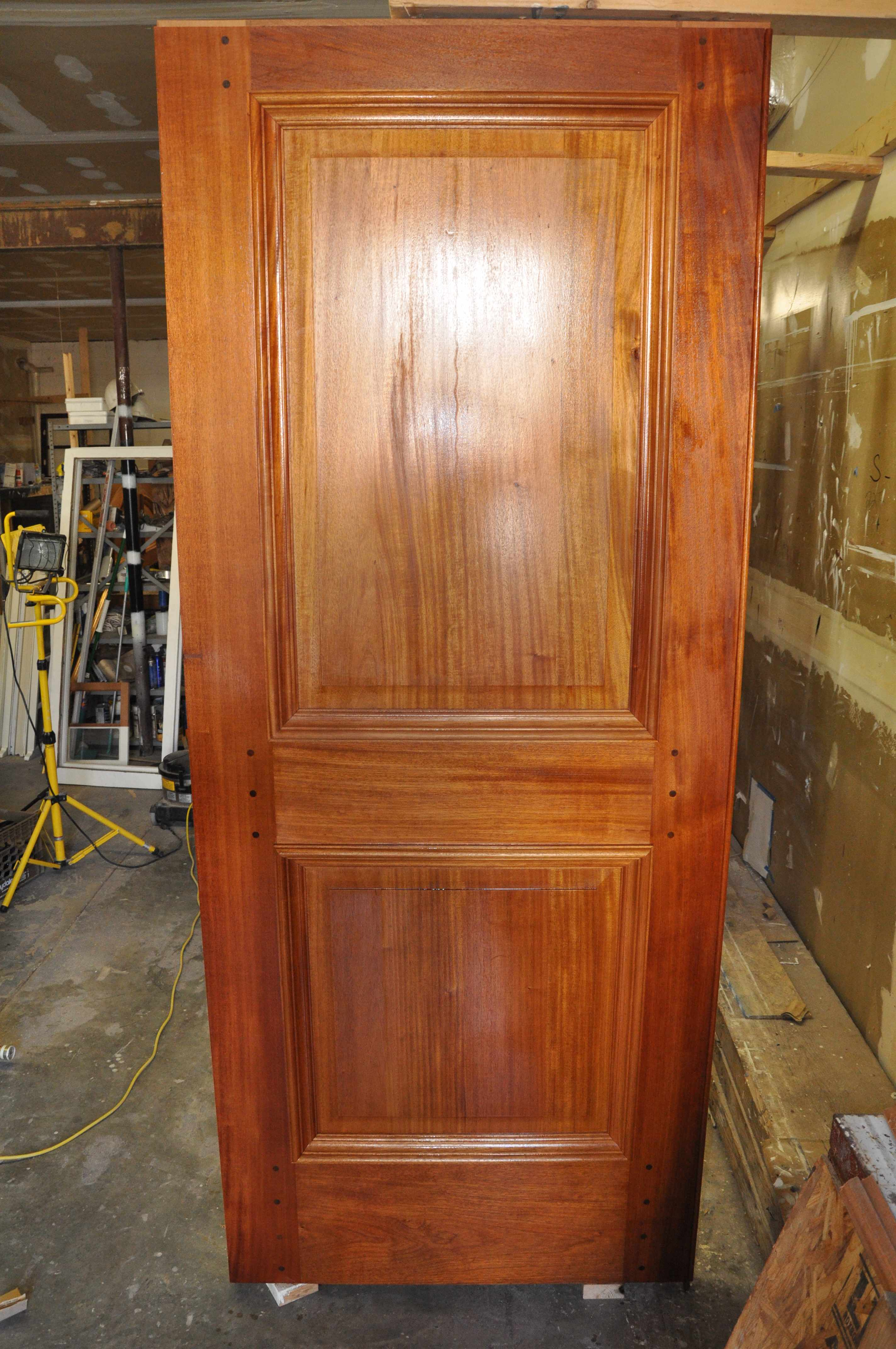 Here are photos of the mahogany doors that are now installed at the DC Superior Court buildings. After filling any imperfections and multiple coats of ... & Mahogany Doors \u2013 DC Superior Court Buildings | renew restoration inc.